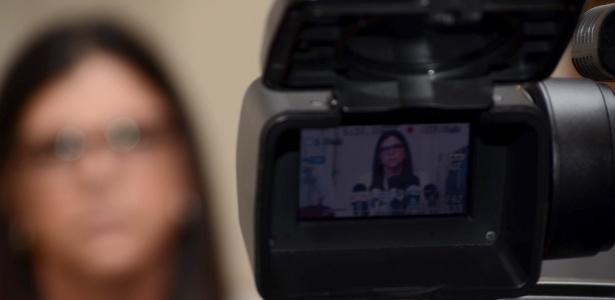 Governadora do Maranhão, Roseana Sarney (PMDB), durante entrevista em São Luís