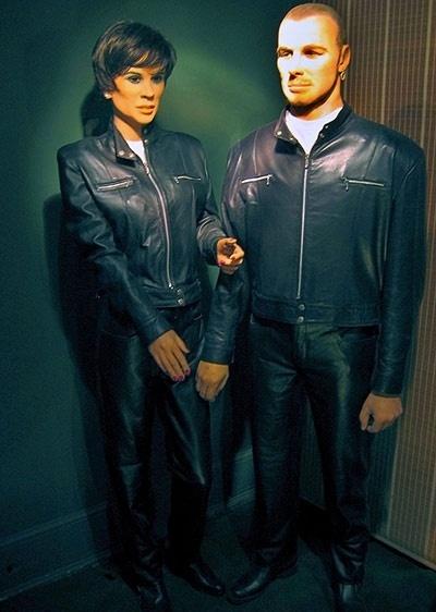 Bonecos de cera do museu Louis Tussauds (considerado o pior do mundo), na Inglaterra, representam o casal Victoria e David Beckham