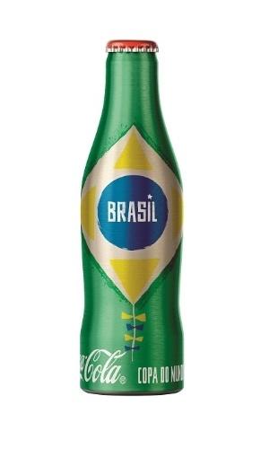 Coca-Cola relança minigarrafinhas para a Copa de 2014