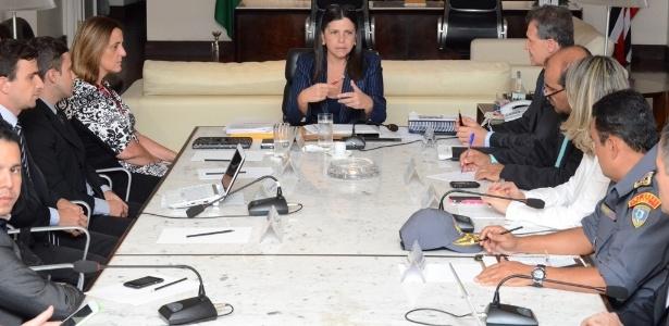 Governadora do Maranhão, Roseana Sarney (PMDB), e seu secretariado
