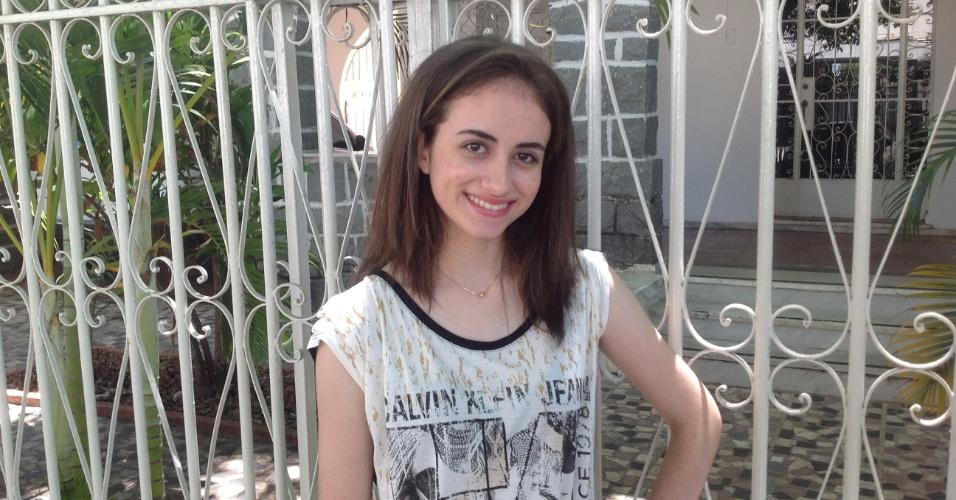 Mariana Drummond Martins Lima, 18 anos, ficou em primeiro lugar geral na UFMG e na UFES
