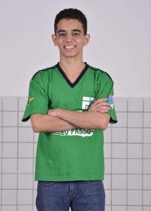 Marcos Santana ficou em 1º lugar no vestibular 2014 do ITA