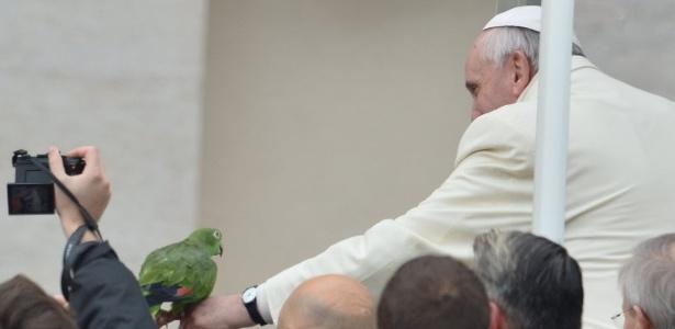 Papagaio do Papa fará previsões para a Copa do Mundo