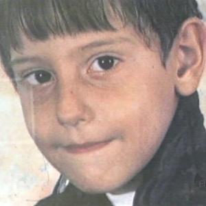 O menino Paulo Pavesi, cujos órgãos foram retirados quando ainda estava vivo, na Santa Casa de Poços de Caldas, em Minas Gerais