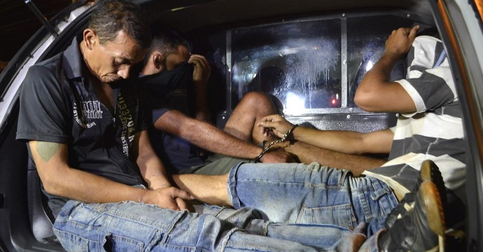 8.fev.2014 - Oito homens foram presos no interior de São Paulo na sexta-feira (7) suspeitos de participação na tentativa de assalto a Thomaz Alckmin, filho do governador Geraldo Alckmin (PSDB)