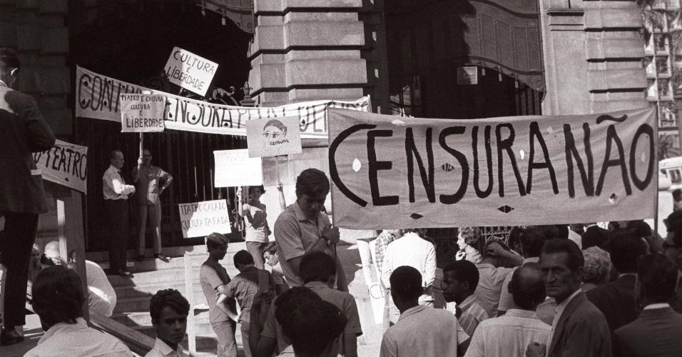 Resultado de imagem para censura ditadura militar