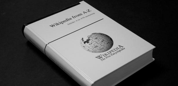 Protótipo criado pela empresa alemã Pediapress para o projeto de imprimir toda a Wikipedia em inglês