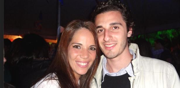 Mariana Marques Rodella e o namorado Giuliano Landini em foto postada em uma rede social