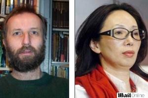 O professor de matemática Tony Hawken, 57, se divorciou da megaempresária Xiu Li, 51