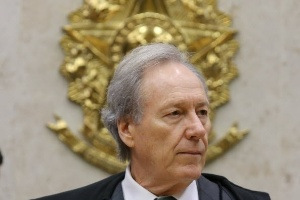 O ministro Ricardo Lewandowski durante sessão no STF (Supremo Tribunal Federal)