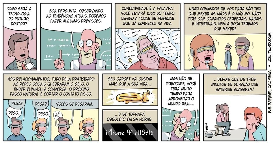 """22.mar.2014 - """"O futuro"""""""