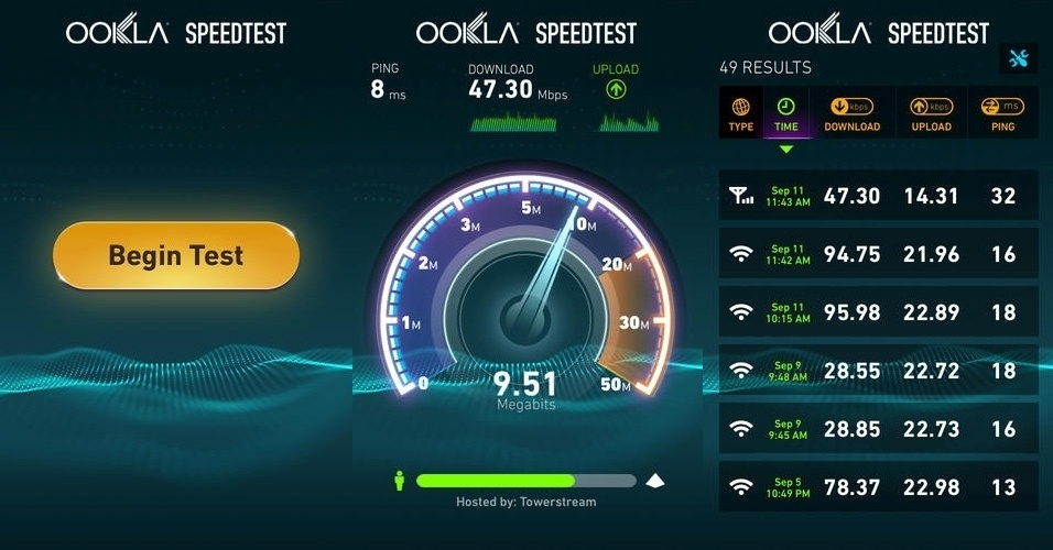 Aplicativos ajudam a medir velocidade de internet móvel em smartphones e tablets