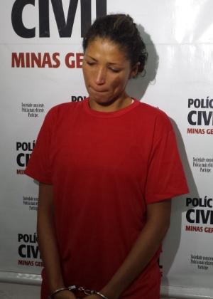 Luciene Ramos Lima, 24, foi detida no último sábado (29), no bairro Marimbá, em Betim, região metropolitana de Belo Horizonte