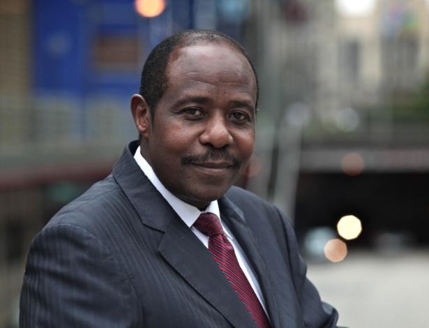 """Paul Rusesabagina, cuja história inspirou o filme """"Hotel Ruanda"""""""