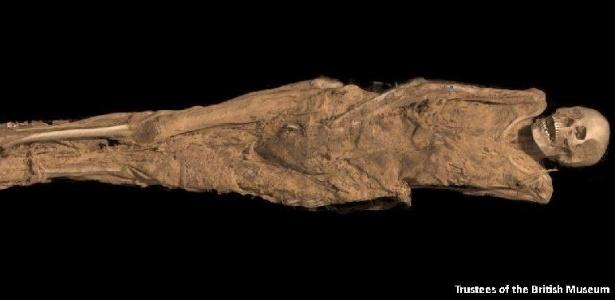 Escâneres de última geração permitiram ver múmias milenares através de suas bandagens pela primeira vez