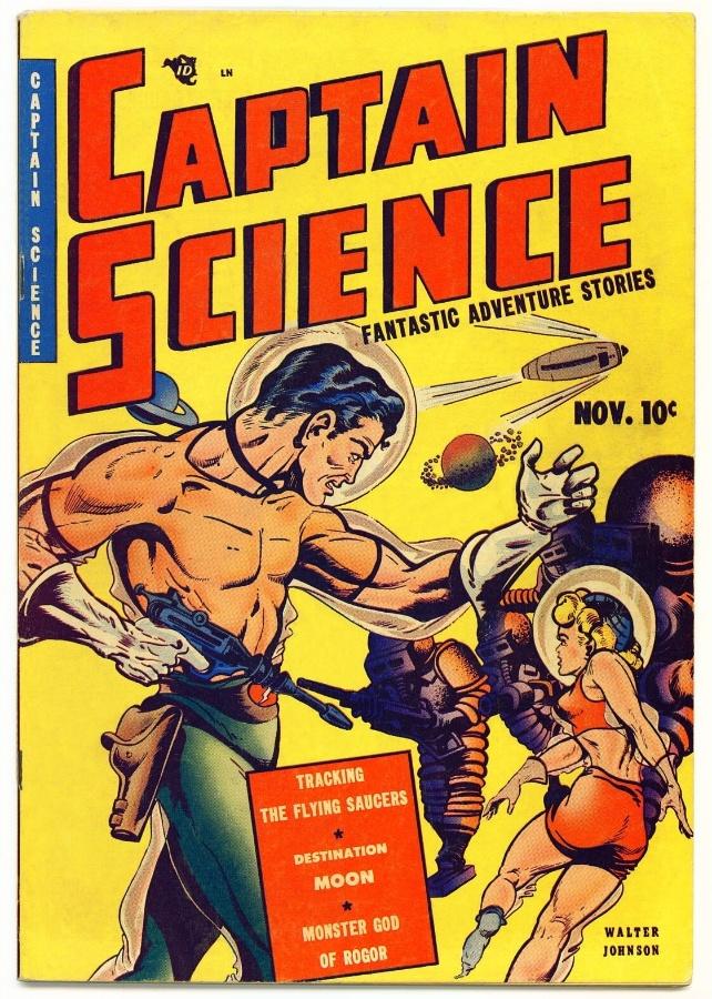 11.abr.2014 - O Capitão Ciência lutou contra todos os tipos de vilões do espaço, incluindo discos voadores, monstros, alienígenas e até piratas espaciais