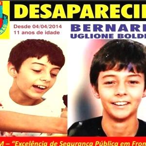 Polícia acredita que Bernardo, de 11 anos, foi assassinado pelo pai e pela madrasta