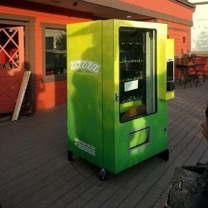 No Colorado (EUA), a máquina automática Zazzz, fabricada pela American Green, venderá a maconha para fins medicinais