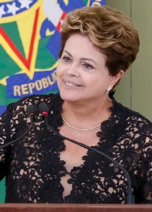 Presidente Dilma Rousseff discursa durante a 42ª Reunião Ordinária do Pleno do Conselho de Desenvolvimento Econômico e Social, no Palácio do Planalto, em Brasília