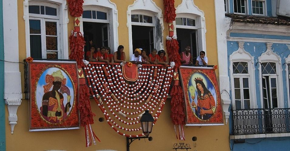 decoracao festa xango:Sincretismo: Culto a santos católicos e orixás se misturou no Brasil