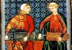 Trovadorismo - origens e prosa: Crônicas, hagiografias, livros de linhagens e novelas de cavalaria - Wikimedia commons