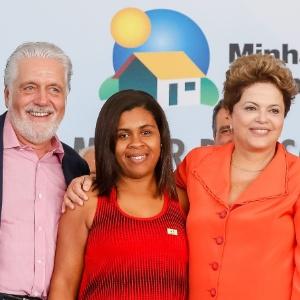 """Dilma Rousseff participou do lançamento de três condomínios do """"Minha Casa, Minha Vida"""", na Bahia"""
