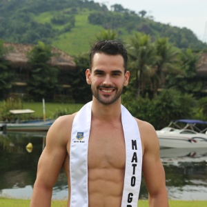 Victor Zanatta, Mister Mato Grosso, o melhor sorriso