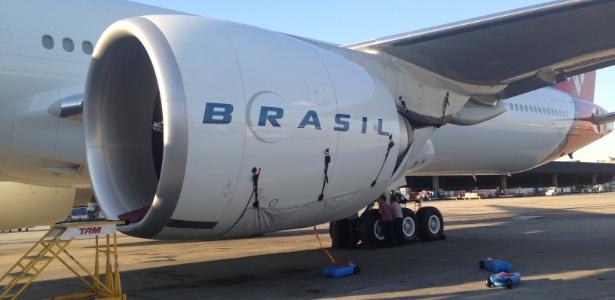 A lavagem dos motores dos aviões será feita a cada 40 dias