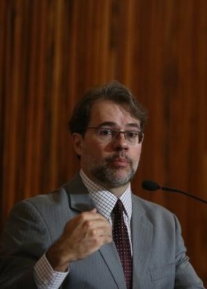 Presidente do TSE, Dias Toffoli, durante sessão da corte