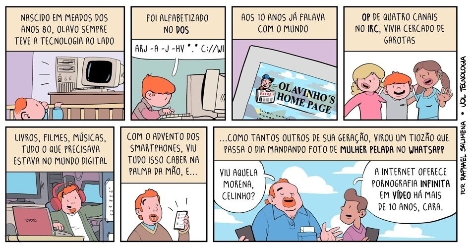 """17.mai.2014 - """"O retrato de uma geração"""""""
