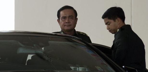 Prayuth Chan-ocha considerou que as tentativas de um acordo entre o Executivo interino e os antigovernamentais fracassaram.