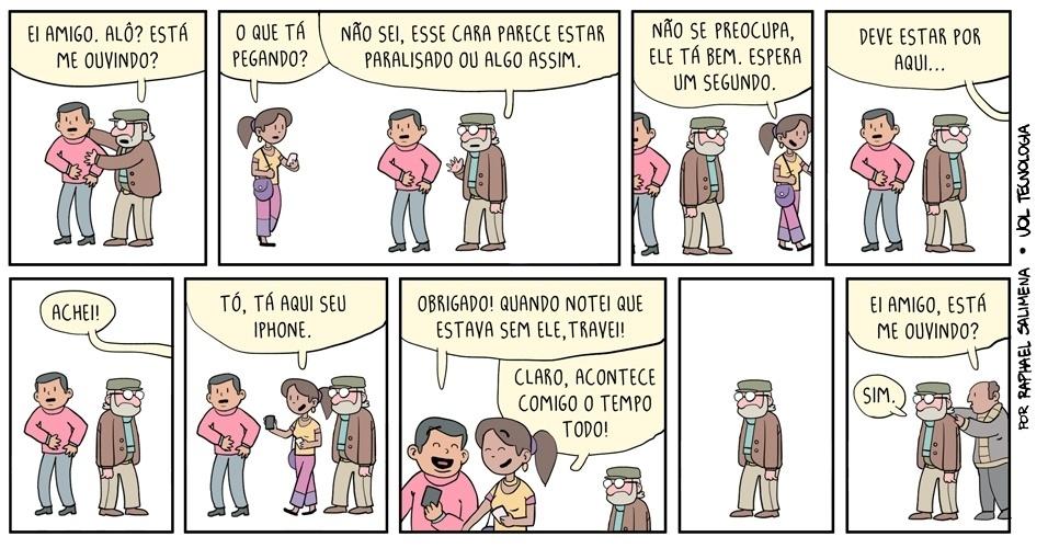 """31.mai.2014 - """"Paralisado"""""""