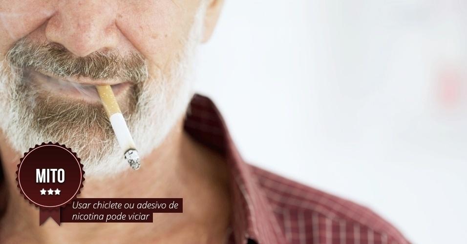 Deixar de fumar com um ponto
