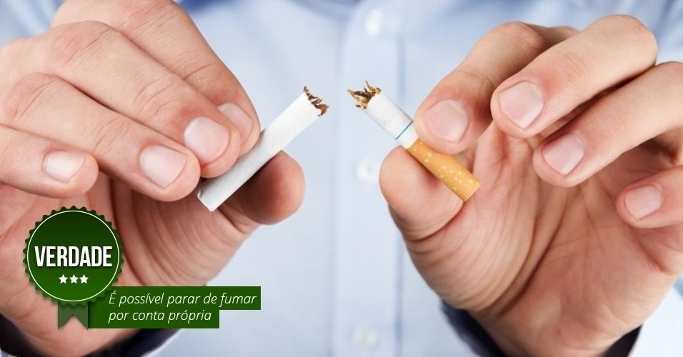 Deixar de fumar e parecer melhor