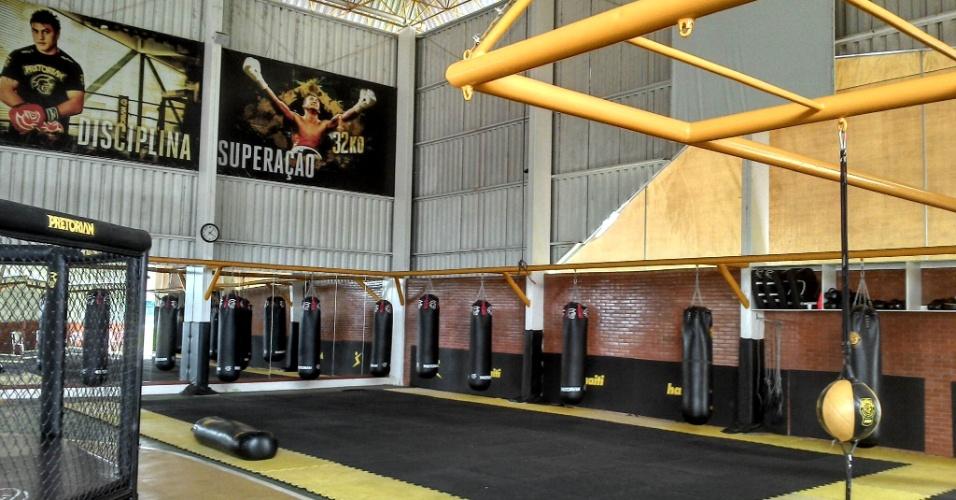 Fight Club franquia de academia de lutas do Popó