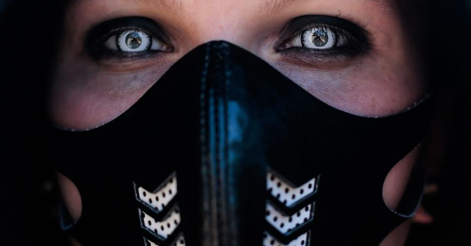 Eliminação de círculos escuros abaixo de olhos