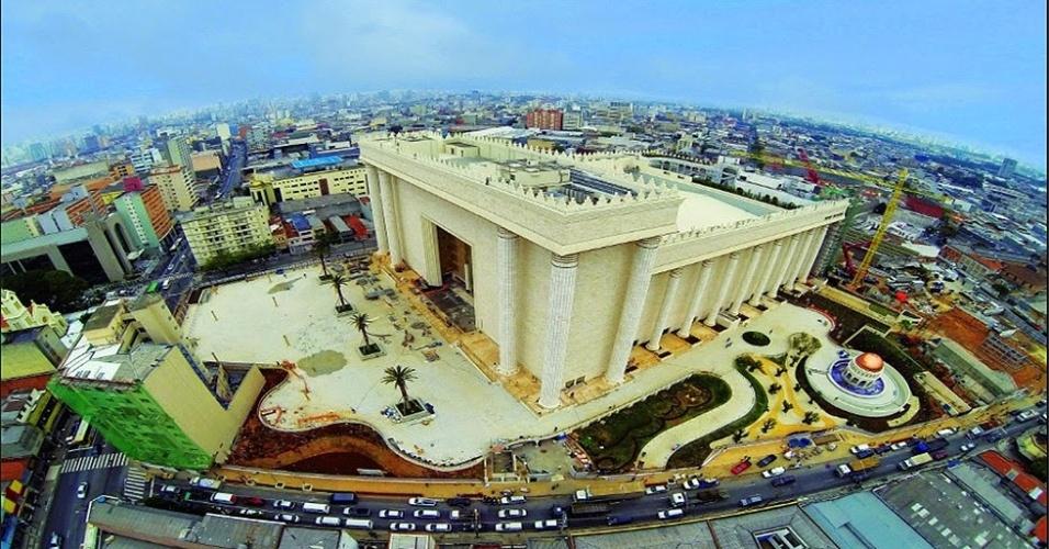 Templo de Salomão, da Igreja Evangélica do Reino de Deus, situada no bairro do Brás, na zona leste de São Paulo