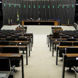 Plenário da Câmara dos Deputados, que tem 2 mil servidores ganhando acima do teto