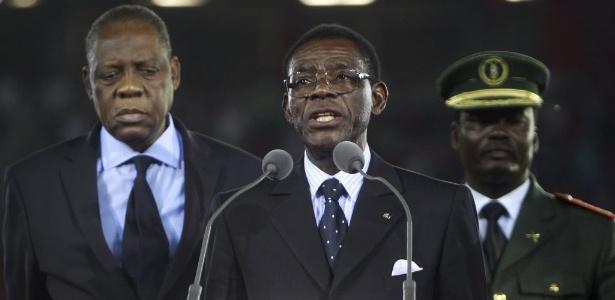 Teodoro Obiang Nguema, ditador desde 1979, é o líder africano há mais tempo no poder