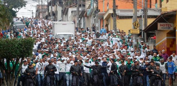 PM diz que não fará esquema para Palmeiras e Corinthians no mesmo dia