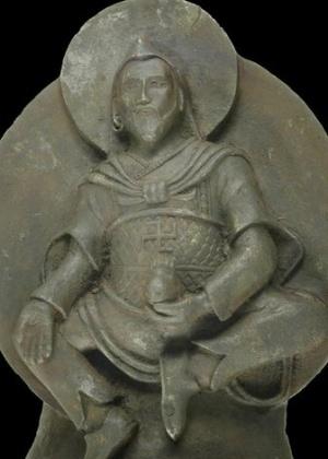 Objeto de mil anos, que tem uma suástica na barriga, é feito de uma forma rara de ferro com alto teor de níquel