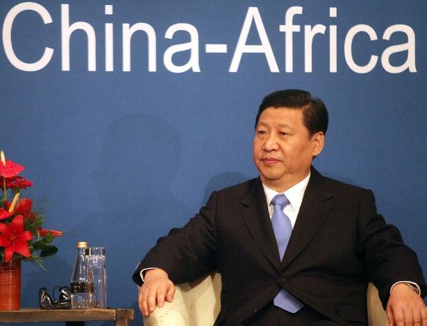 18.nov.2010 - O então vice-presidente da China Xi Jinping participa das comemorações do 10º aniversário do Fórum de Cooperação China-África, em Pretória (África do Sul)