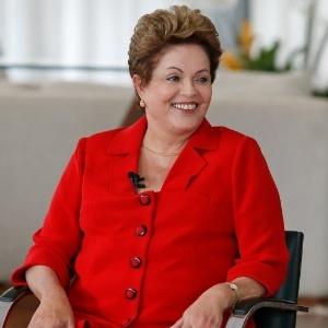 Presidente Dilma Rousseff (PT), candidata à reeleição, durante sabatina