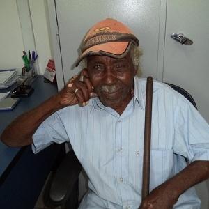 Virgílio Cachoeira de Oliveira, que tirou o 1º registro de nascimento aos 98 anos