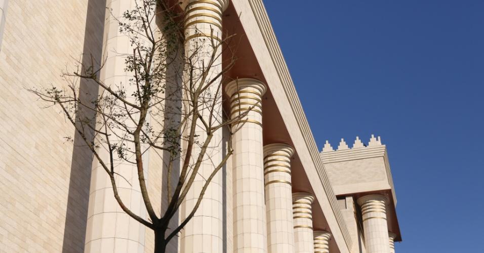 30.jul.2014 - O Templo de Salomão, ligado à Igreja Universal do Reino de Deus e construído na região central de São Paulo, tem 54 metros de altura, maior do que o Cristo Redentor, no Rio de Janeiro