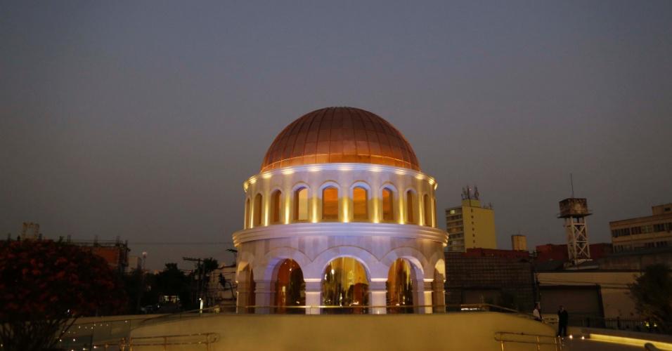 31.jul.2014 - Vista do Templo de Salomão durante a sua inauguração, na região central de São Paulo. O templo foi erguido pela Igreja Universal do Reino de Deus