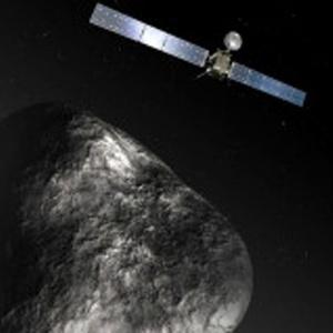 A sonda Rosetta deve orbitar o cometa 67P/Churyumov-Gerasimenko por um ano