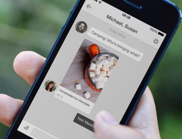 Rede social Pinterest estreia opção que permite ter conversa com até dez pessoas