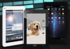 Teste avalia três tablets de sete polegadas que custam até R$ 500 (Foto: Arte UOL)