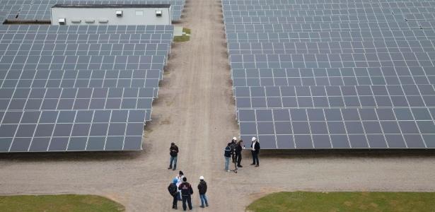 Usina em Tubarão, no sul de Santa Catarina, tem 19.424 painéis solares